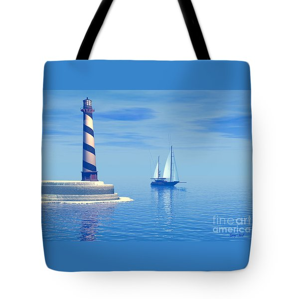 Cape Hatteras Tote Bag by Corey Ford
