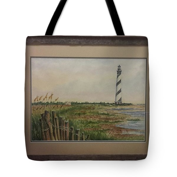 Cape Hatteras Light House Tote Bag