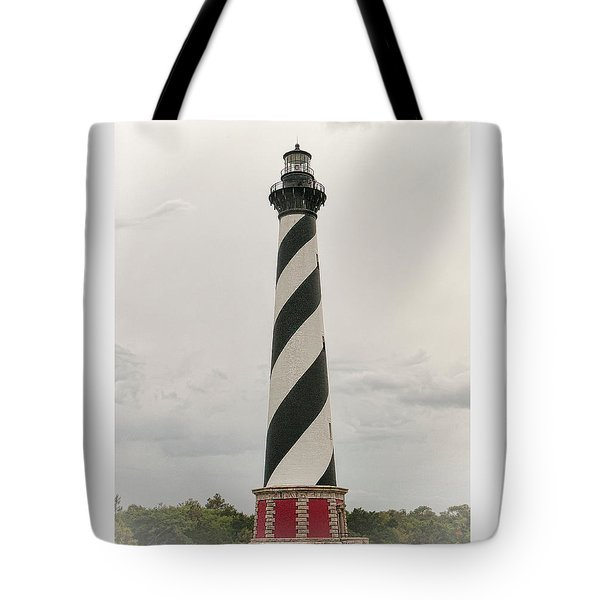 Cape Hatteras Light Tote Bag