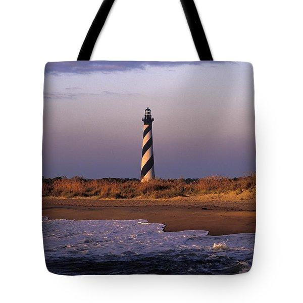 Cape Hatteras Lighthouse At Sunrise - Fs000606 Tote Bag