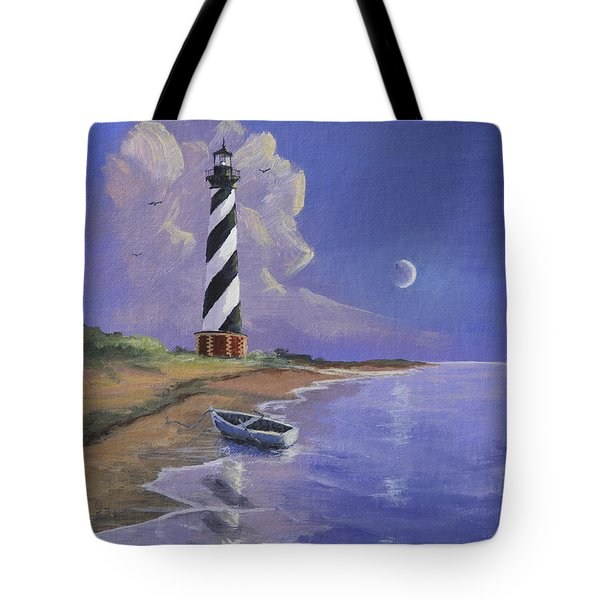 Cape Hatteras Lighthouse Tote Bag by Jerry McElroy