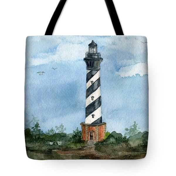 Cape Hatteras Lighthouse  Tote Bag by Nancy Patterson