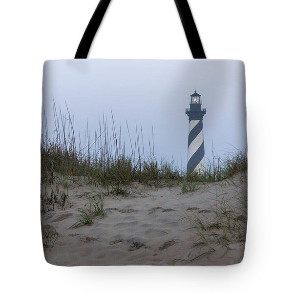Cape Hatteras Over The Dunes Tote Bag