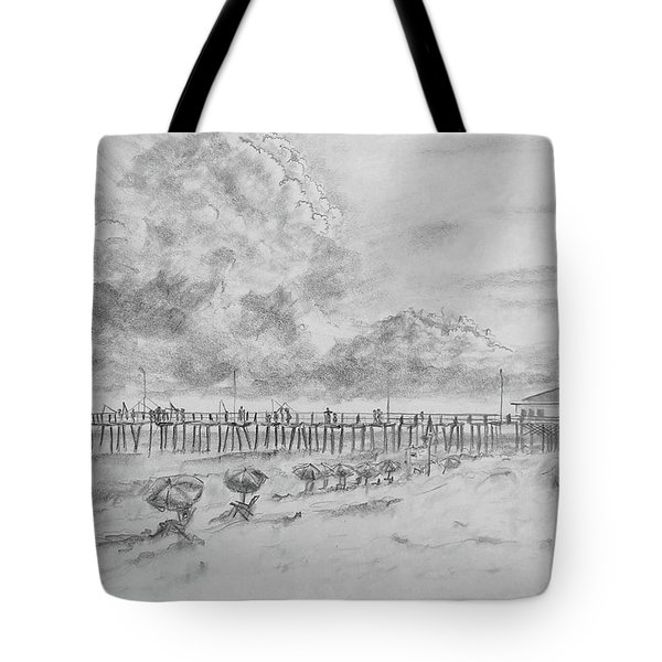 Cape Hatteras Summer Day Tote Bag