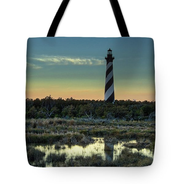 Cape Hatteras Sunset Tote Bag
