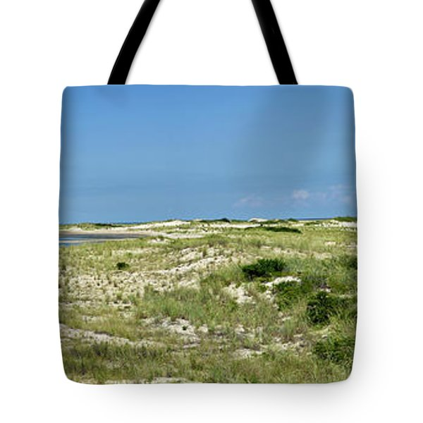Tote Bag featuring the photograph Cape Henlopen State Park - The Point - Delaware by Brendan Reals