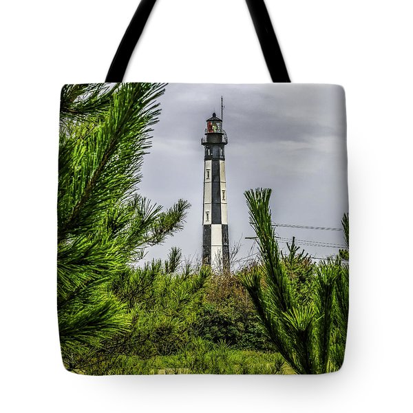 Cape Henry Light From The Dune Tote Bag