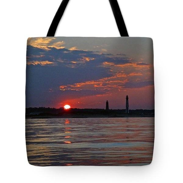 Cape Henry Sunset Tote Bag