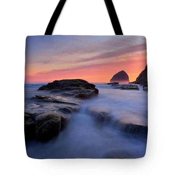 Tote Bag featuring the photograph Cape Kiwanda by Evgeny Vasenev