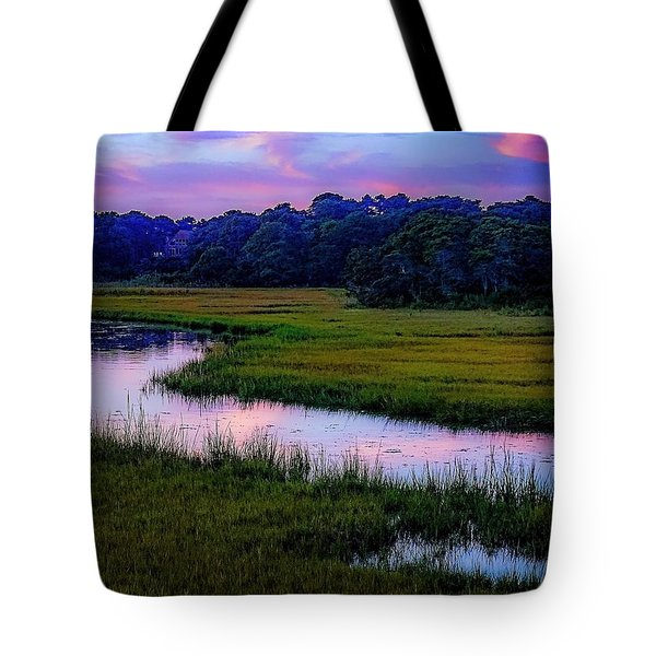 Tote Bag featuring the photograph Cape Light by Kendall McKernon