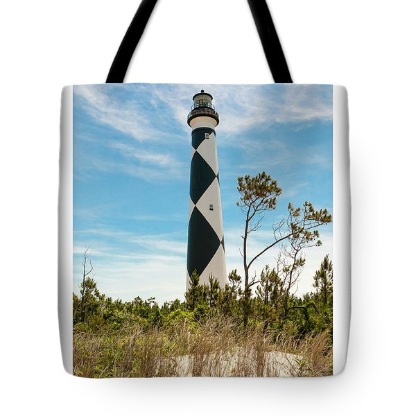 Cape Lookout Light No 2 Tote Bag