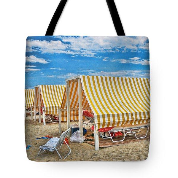 Cape May Cabanas 2 Tote Bag