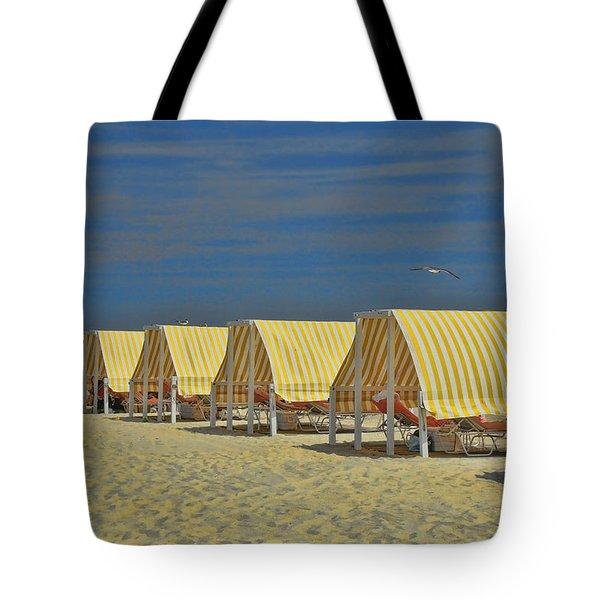 Cape May Cabanas 6 Tote Bag