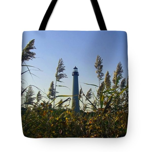 Cape May Light Autumn Tote Bag by Kevin  Sherf