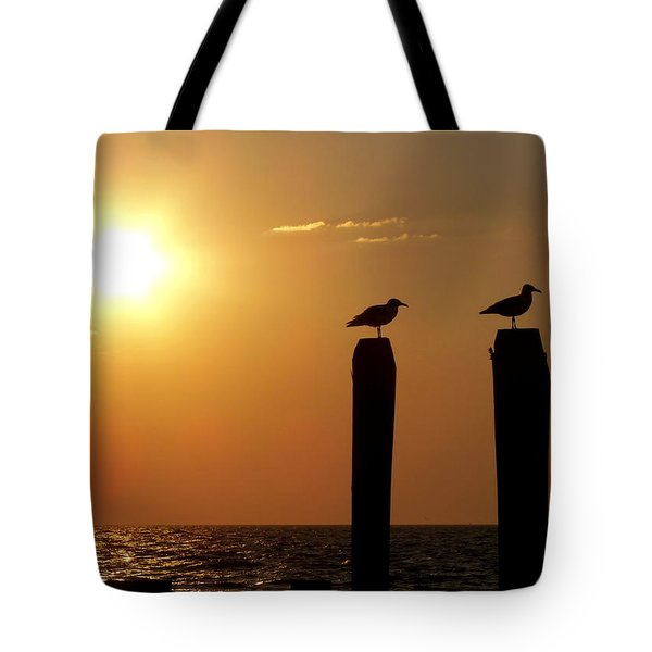 Cape May Morning Tote Bag by JAMART Photography