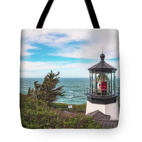 Tote Bag featuring the photograph Cape Meares Bright by Darren White