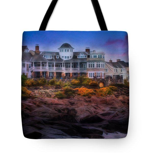 Cape Neddick Maine Scenic Vista Tote Bag