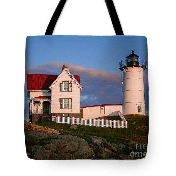 Cape Neddick Nubble Lighthouse 2634 Tote Bag