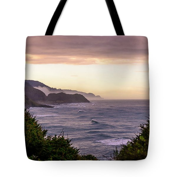 Cape Perpetua, Oregon Coast Tote Bag