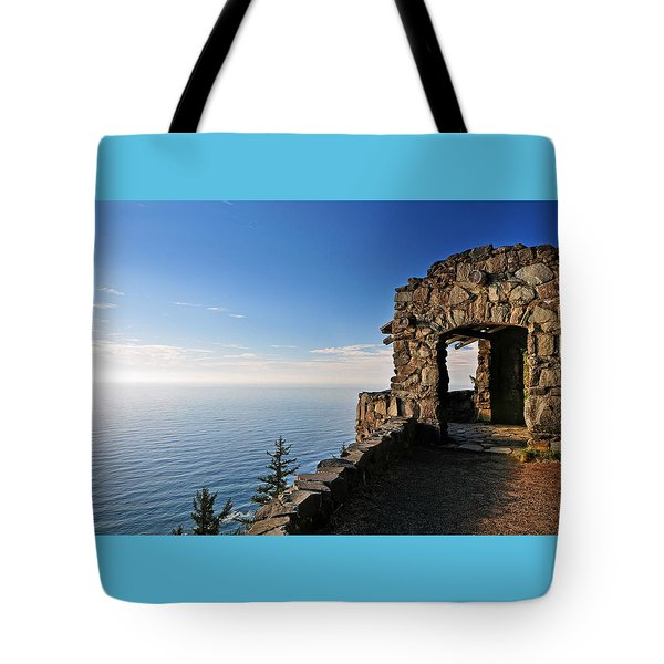 Cape Perpetua Stone Shelter Tote Bag