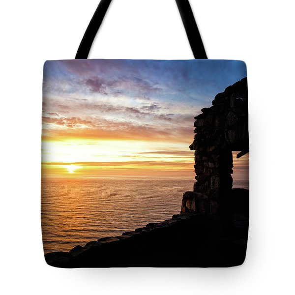 Cape Perpetua Sunset Tote Bag