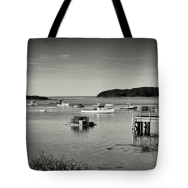 Cape Porpoise Harbor Tote Bag