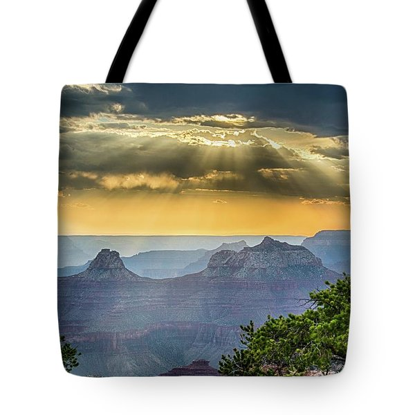 Cape Royal Crepuscular Rays Tote Bag