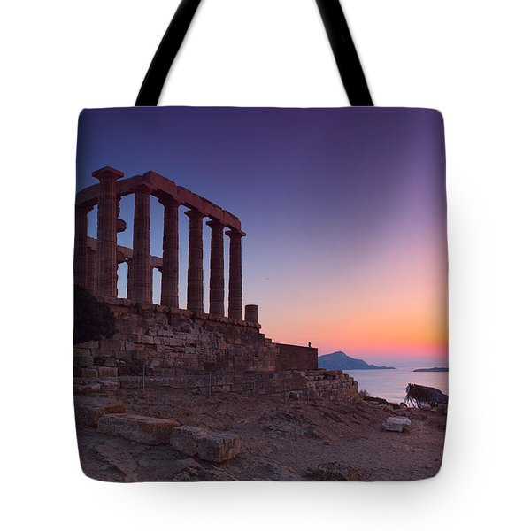 Cape Sounion Tote Bag