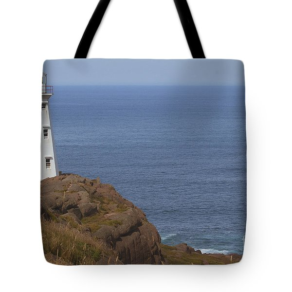 Cape Spear Tote Bag by Eunice Gibb