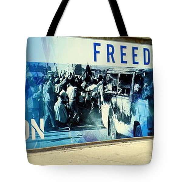 Cape Town Prison Sign Tote Bag