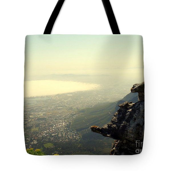 Cape Town View From Table Rock Tote Bag