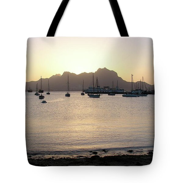 Cape Verde Sunset Tote Bag