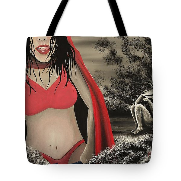 Caperuza Tote Bag