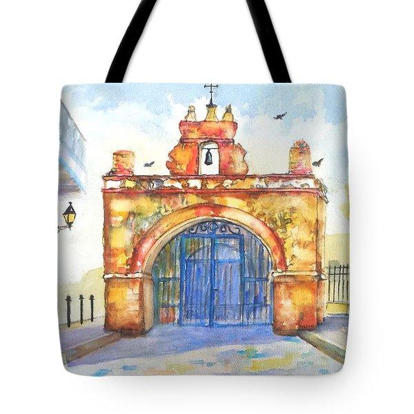Capilla Del Cristo Puerto Rico Tote Bag