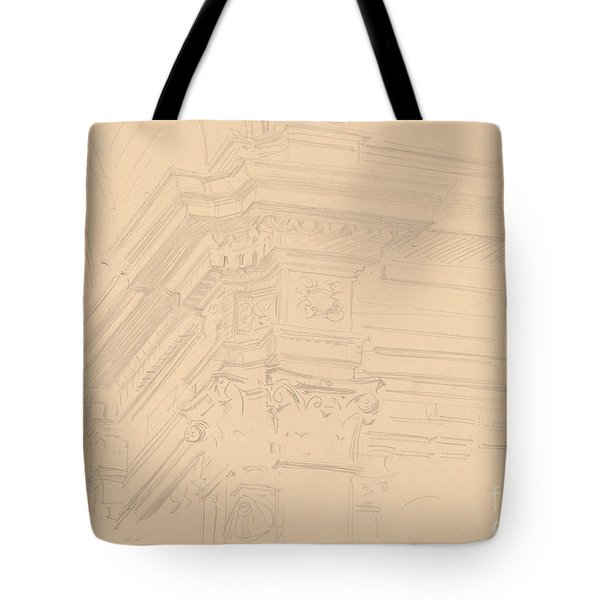 Capilla Real Entablature, Granada Tote Bag