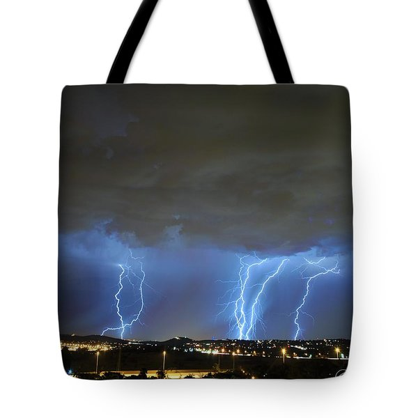Capital City Lightning Tote Bag