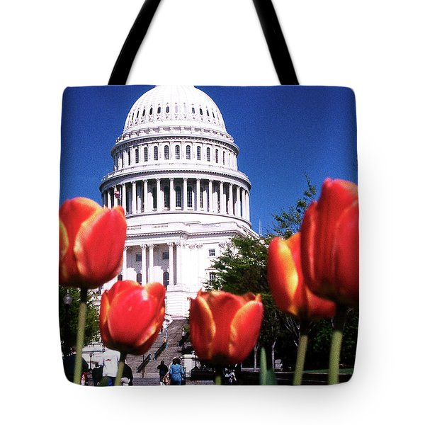 Capital Colors Tote Bag