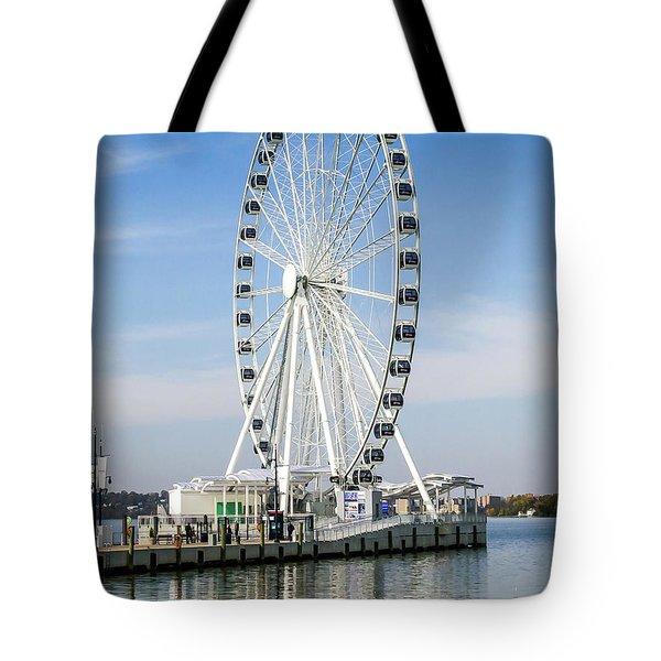 Capital Ferris Wheel Tote Bag