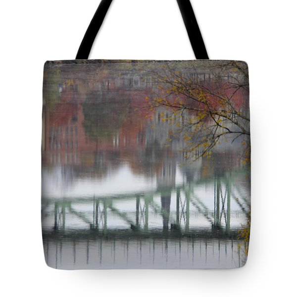 Capital Reflection Tote Bag