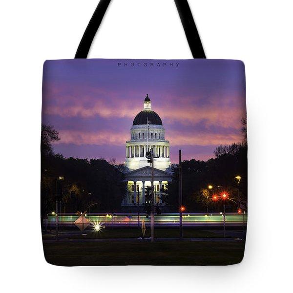 Capital Sunrise Tote Bag