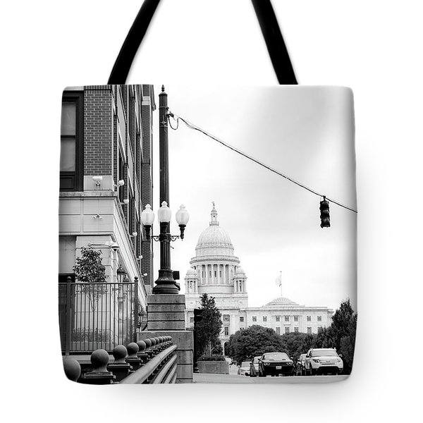 Capital View Tote Bag
