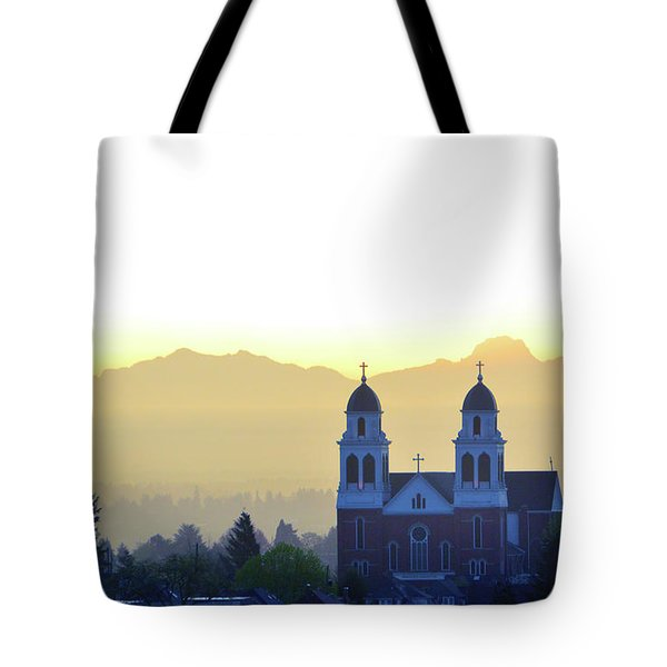 Capitol Hill Sun Up Tote Bag