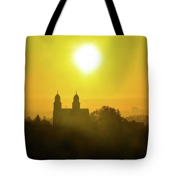 Capitol Hill Sunrise   Tote Bag