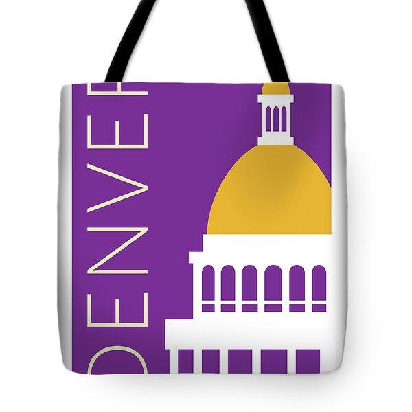Denver Capitol/purple Tote Bag