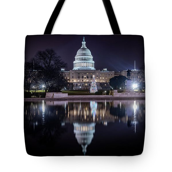 Capitol Reflects Tote Bag
