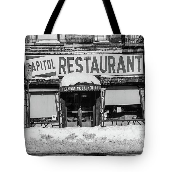 Capitol Restaurant Tote Bag