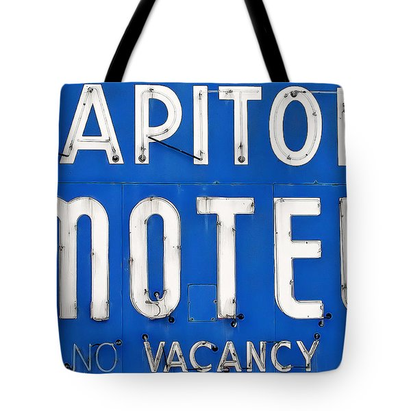 Capitol Sign Tote Bag by Todd Klassy