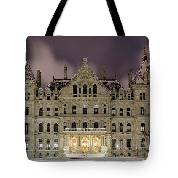 Capitol Snow Tote Bag