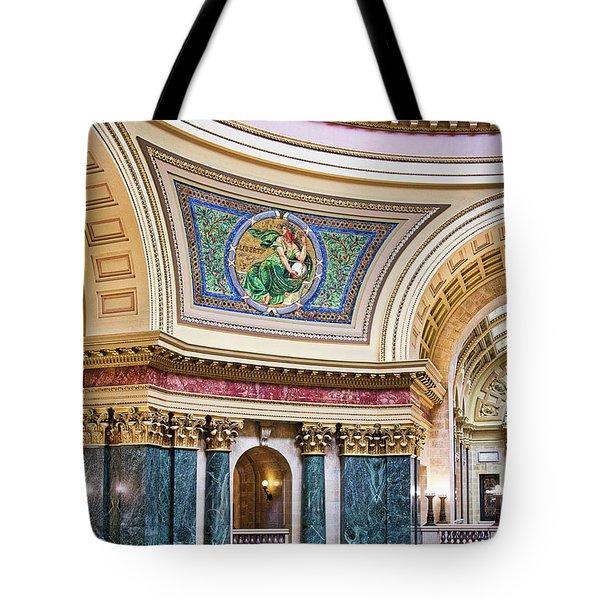 Capitol Rotunda -madison - Wisconsin Tote Bag
