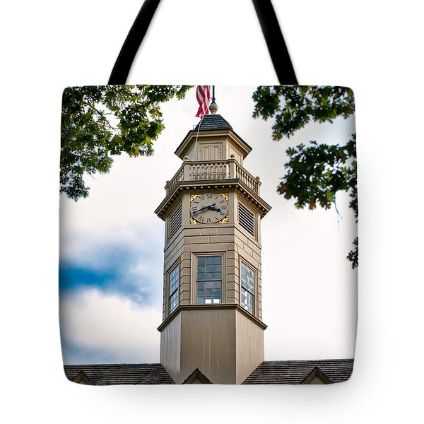 Capitol Time Tote Bag by Christopher Holmes